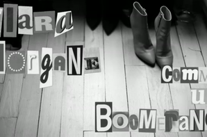 "( Vid�o +Audio) Clara Morgan : Topless pour massacrer ""Comme Un Boomrang""  de Serge Gainsbourg"