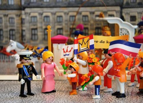 Exclusivit� Pays-Bas :  Le couple Royal Willem-Alexander et Maxima.