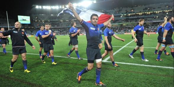 8 octobre 2011 - Quart de finale France 19 - 12 Angleterre