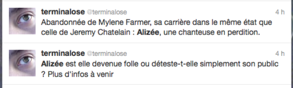 Alize: Elle se clash avec un fan sur twitter