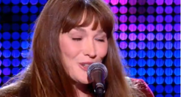 Carla Bruni Sarkozy: Red�couvrez son live au Grand Journal de Canal +
