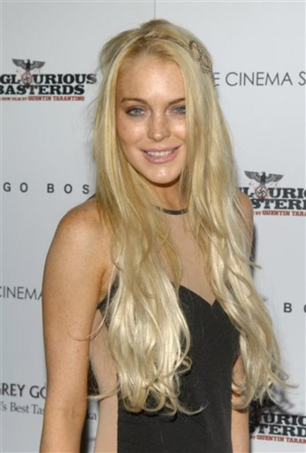 LindsayLohan: Elle est rentre en rehab 