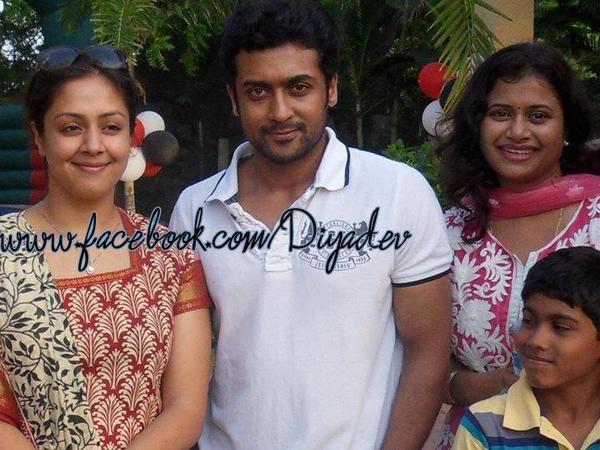 Surya Jyothika Unseen Rare Family Photos Suryafansclub ...