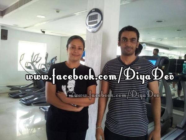 Surya & Jyothika - Rare/Unseen! - Dev & Diya - kutty Surya ...
