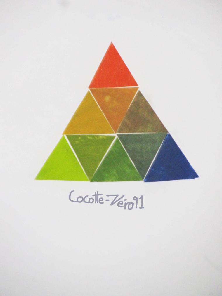 Post le samedi 25 ao t 2012 12 41 les art plastique ma vie - L harmonie des couleurs ...