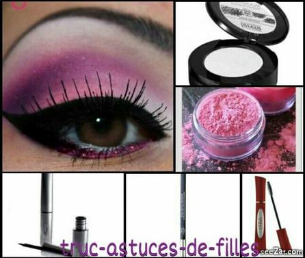 tuto maquillage yeux truc et astuces pour les filles. Black Bedroom Furniture Sets. Home Design Ideas
