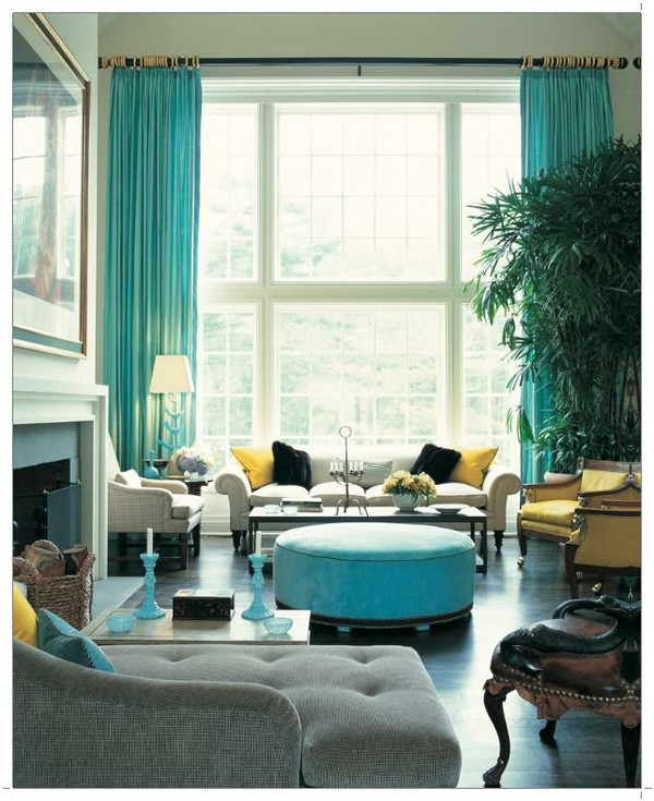 Turquoise Living Room Design Ideas | Interior PIN ...
