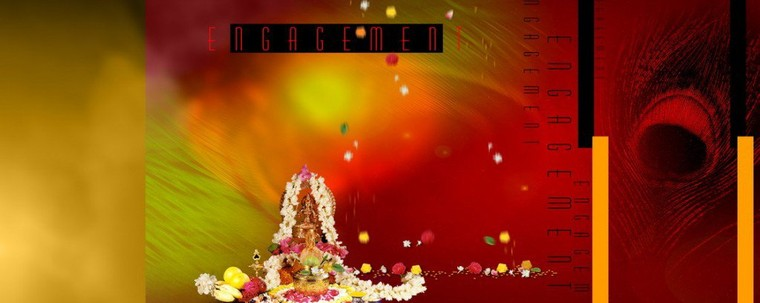 Free Download Ganesh Puja For Engagement Ceremony PSD